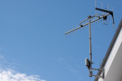 TV aerial アンテナ 地デジ