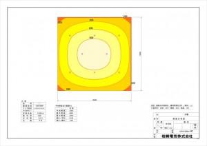 照度分布図_案②LED8灯_O39-006P_LDRS147N-W-E39^HB_161130_imgs-0001_R