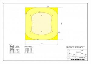 照度分布図_案①LED6灯_O39-006P_LDRS147N-W-E39^HB_161130_imgs-0001_R